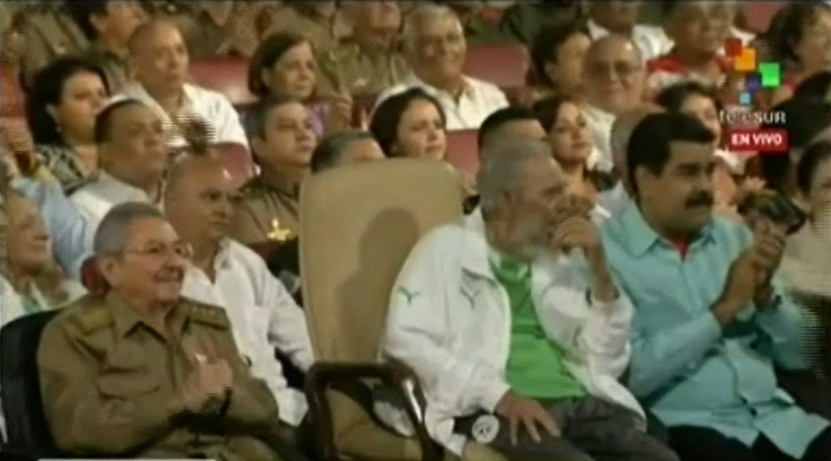 Fidel Castro reaparece su 90 º cumpleaños