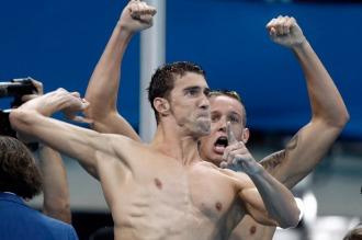 Histórico: Phelps sumó su medalla número 19 en los Juegos Olímpicos