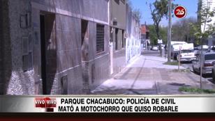 Policía mató a motochorro que intentó asaltarlo