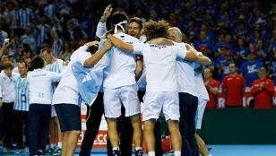 Argentina jugará su quinta final de Copa Davis
