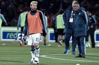 Bauza: Messi no estará ante Venezuela, tiene dolor y no podemos tomar riesgos