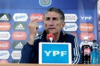 Bauza da a conocer los convocados que jugarán ante Perú y Paraguay