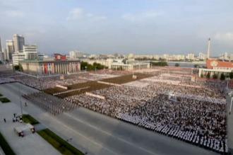 Corea del Norte celebró con un acto multitudinario su última prueba nuclear