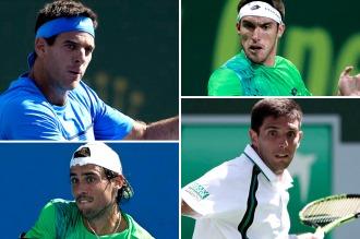 Del Potro, Pella, Delbonis y Mayer para enfrentar a Gran Bretaña en la Copa Davis