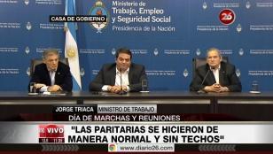 Gobierno y CGT: Fue una discusión madura