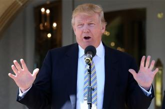Investigan a la Fundación Trump por hacer transacciones irregulares