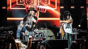 La reventa de entradas para ver a Guns N' Roses llega a los u$s 5500