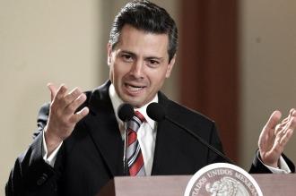 Miles de mexicanos pidieron la renuncia de Peña Nieto en una marcha por la capital