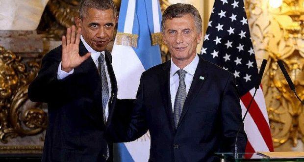 Barack Obama felicitó Mauricio Macri en el G20 en China