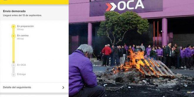 Paro de OCA: se normaliza la entrega de paquetes de Mercado Libre