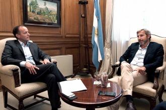 Rogelio Frigerio anuncia obras en el conurbano con Insaurralde y Cascallares