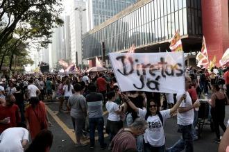 San Pablo : Incidentes en una nueva protesta contra el gobierno de Temer