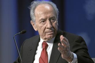 Shimon Peres grave tras sufrir un derrame cerebral