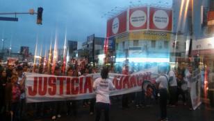 Vecinos de Lanús protestaron contra la inseguridad