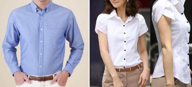 ¿Por qué los botones de las camisas de hombre y mujeres están en lados opuestos ?