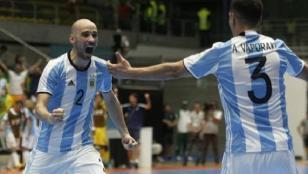 Argentina venció a Rusia y ganó el mundial de futsal