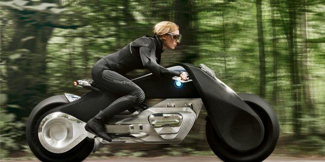 BMW, lanza un nuevo prototipo de moto futurista