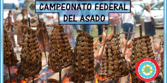 Primer campeonato federal del asado en el Obelisco