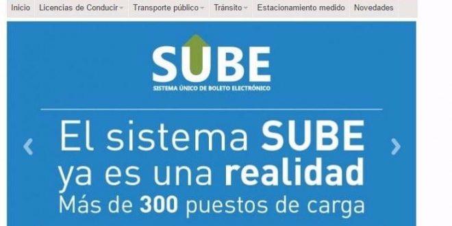 Lugares de carga de la tarjeta sube en Mar del Plata