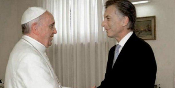 Macri y el Papa Francisco se reunieron en el Vaticano
