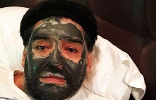¿Qué le pasó a Maradona en la cara?