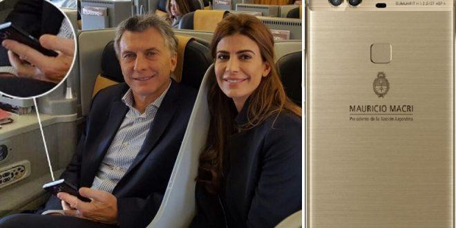 El telefono celular de Macri