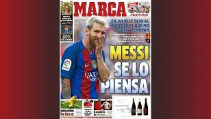 ¿Se va Messi del Barca?