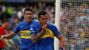 Boca venció a Sevilla por 4 a 3