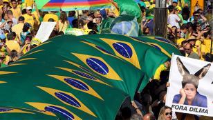 Brasil: Manifestaciones contra el ajuste fiscal de Michel Temer