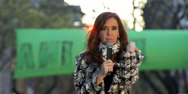 Cristina Kirchner se mostró a favor de Trump como presidente de los Estados Unidos