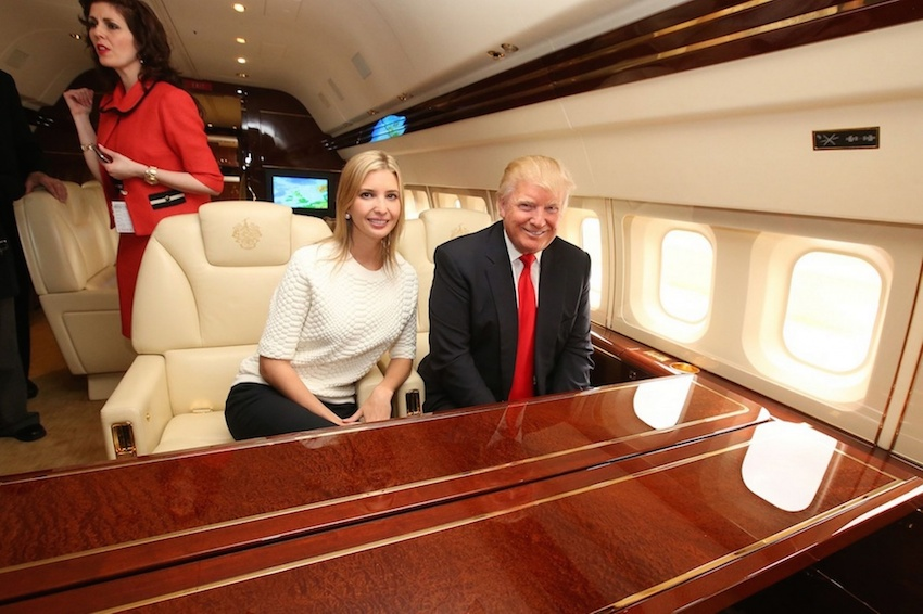 Video: Así es el avion de Donald Trump por dentro