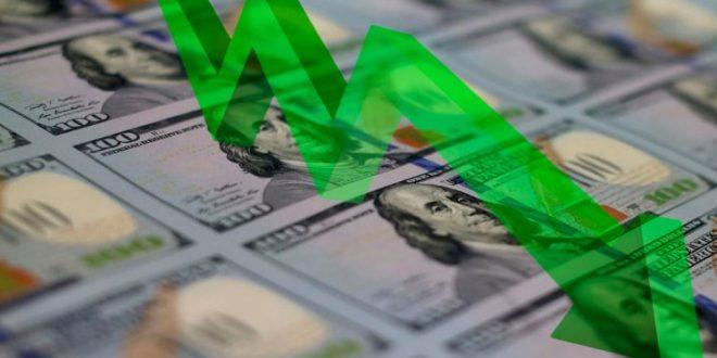 El dólar cayó 7 centavos a $ 15,63