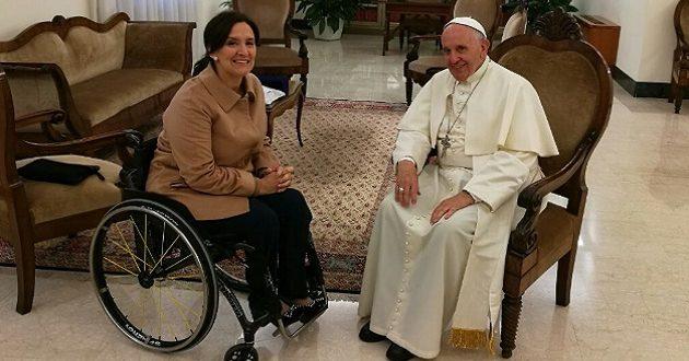 El papa Francisco recibió a Michetti en Santa Marta