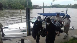 Encuentran muerta a una pareja muerta dentro de un yate en el Delta