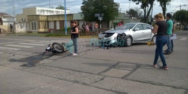Lorenzetti sufrió un accidente de tránsito en Rafaela ,  Santa Fe