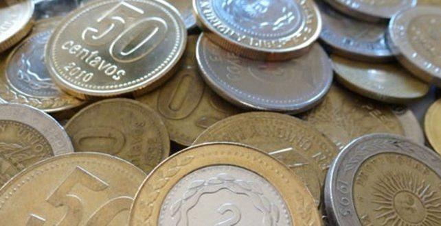 Nuevas monedas de 5 y 10 pesos