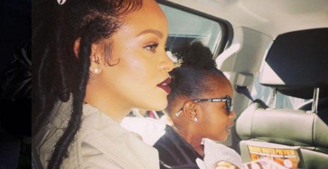 La foto de Rihanna desnuda besando en la boca a su sobrinita que causó revuelo en las redes sociales