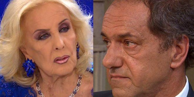 Scioli arremetió contra Mirtha Legrand