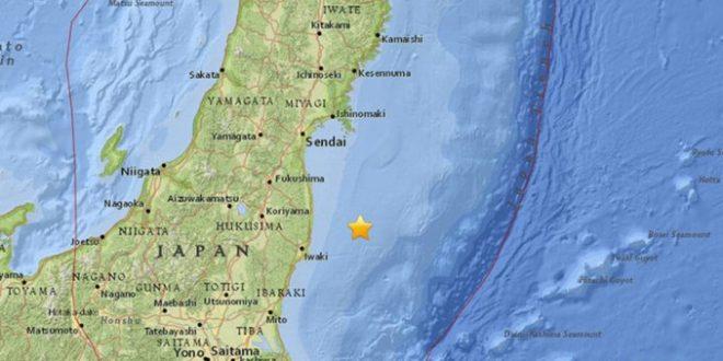 Alerta de tsunami en Fukushima tras un fuerte terremoto de 7,3 grados