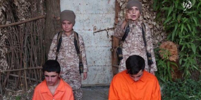 """ISIS hizo que niños ejecuten a """"infieles rusos"""" que apoyan a Bashar Al Assad"""
