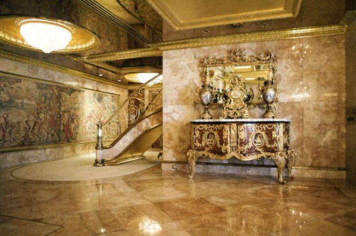 Así es el departamento de Donald Trump por dentro