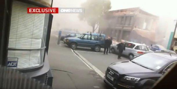 Video: Se derrumba una Iglesia durante el terremoto en Nueva Zelanda