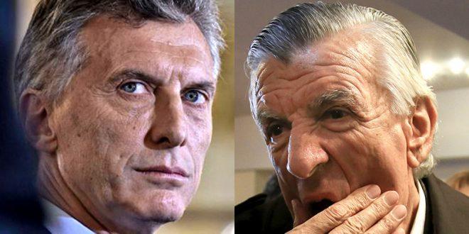 Video: Gioja trato de boludo a Macri