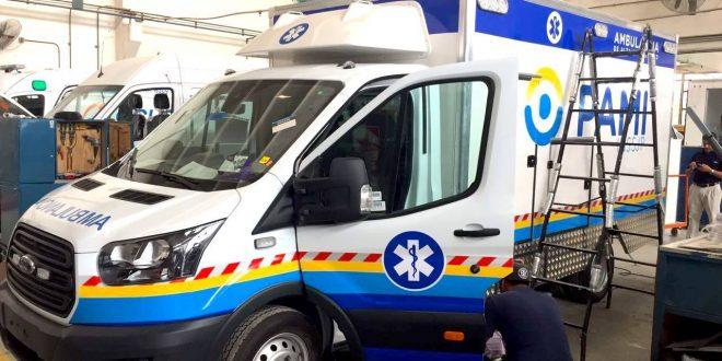 Nuevas ambulancias del Pami