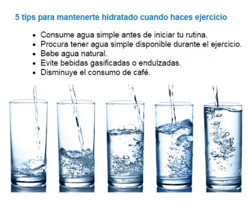 Como para mantenerse hidratado