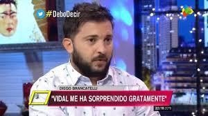 "Diego Brancatelli: ""Me gusta Vidal, no tengo vergüenza en decirlo"""