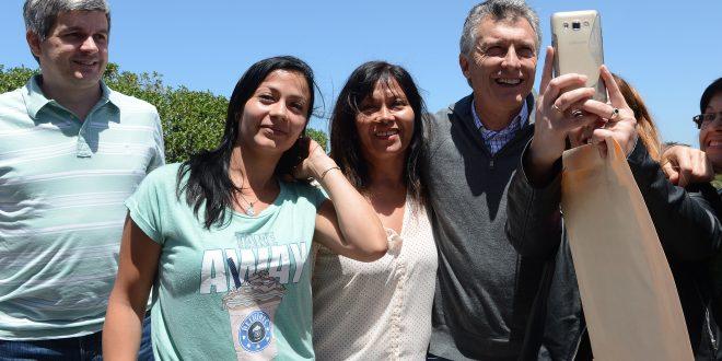 """Macri: """"La confianza en nuestras capacidades va hacer de la Argentina un país único e imparable"""""""