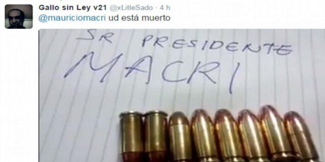Las amenazas de muerte a Macri