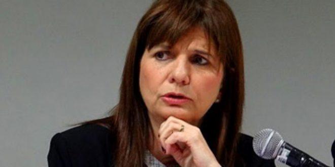 Patricia Bullrich : Hay sectores políticos que quieren un diciembre de caos