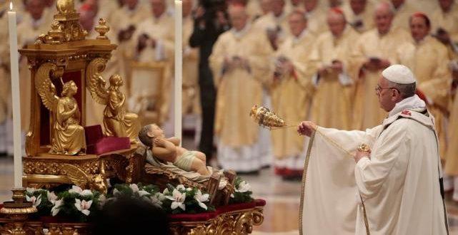 En vivo : Santa Misa de Navidad en el Vaticano